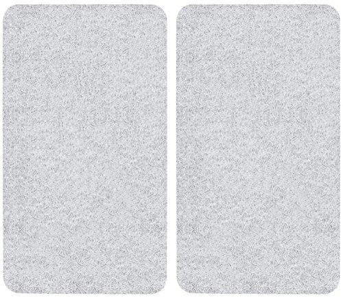 Wenko Tabla Protectora Antisalpicaduras Peperoni, Vidrio,, 52x30x4.5 cm, 2 Unidades