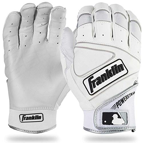 Powerstrap Baseball-Handschuhe, Pearl/White, Erwachsene Large ()