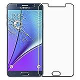 ScTech® Verre trempé Samsung Galaxy Note 5, film de protection écran Premium Anti Chocs et Casse, Anti empreintes, bords arrondis,dureté max 9H Tempered glass 2,5d