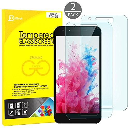 JETech 0913-SP-NEXUS-6P-GLASSX2 - Protector de pantalla (Protector de pantalla, Huawei, Nexus 6P,...