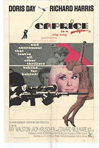 Caprice Movie Poster (27,94 x 43,18 cm)