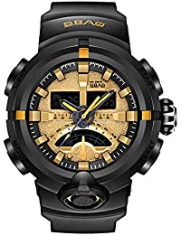 Reloj Deportivo Digital para Hombre con Pantalla LED Reloj Militar de Gran  tamaño y Alarma cronológica 8e09173fcb45