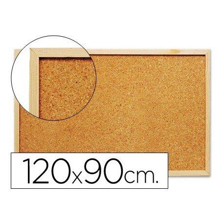 Q-Connect KF26114 - Pizarra corcho, 120 x 90 cm, color magenta