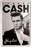Blechschild Johnny Cash 20x30cm