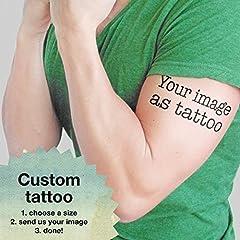 Idea Regalo - La tua immagine come tatuaggio - Tattoo personalizzato
