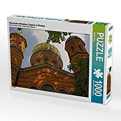 Russisch-orthodoxe Kapelle in Weimar 1000 Teile Puzzle quer