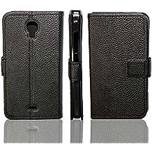 Wiko Bloom funda Flip Cover de caseroxx - Carcasa con flip para el smartphone (flip case en negro)
