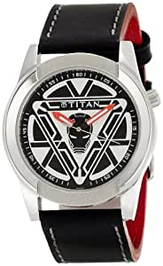 Titan Iron Man 3 Analog Multi- Colour Dial Men's Watch - 1588SL06