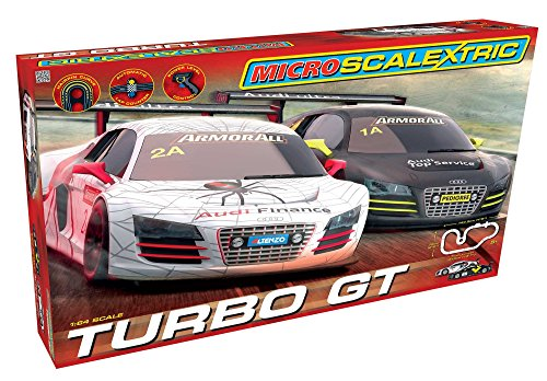 Micro-Scalextric-164-Scale-Turbo-GT-Race-Set