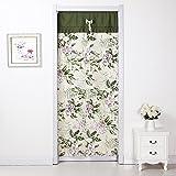 Tür vorhang/stoffe,schlafzimmer,küche,ländlichen,drapieren sie/wind vorhang/ wand vorhänge/langer vorhang-F 90x200cm(35x79inch)