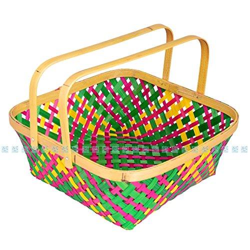 JGC bamboo basket-Square