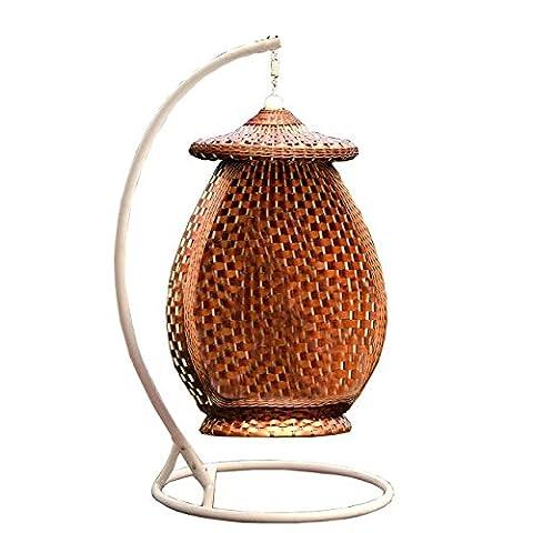 Imitation bambou - rotin osier trapèze / chaise accrochante / siège suspendus / (Outdoor Glider Cuscini)