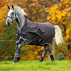 Horseware Amigo Bravo 12 Turnout Wug Lite 0g – Excal/Plum,White & Silver