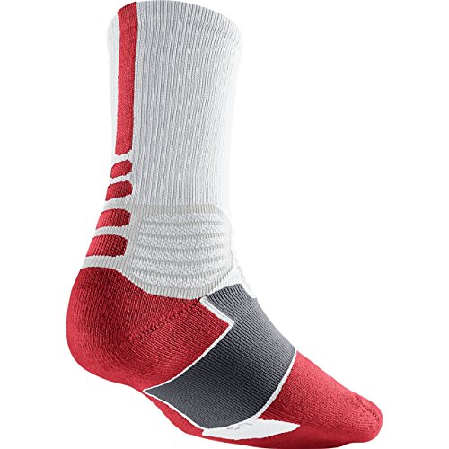 Nike Crew Socks Hyperelite Basketball, Mehrfarbig, S, SX4801-160 (Crew Sportsocken Basketball)