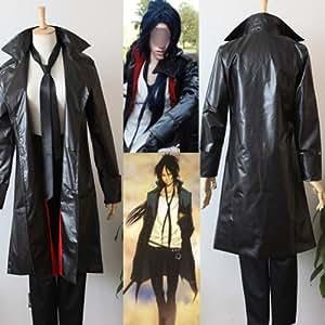 Hitman Reborn Rokudo mukuro Cosplay costume (Envoyez-nous votre taille). taille: XXL: hauteur 185cm-190cm