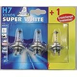 Unitec 77825 Halogenlampe H7 Xenon Super White 2 + 1