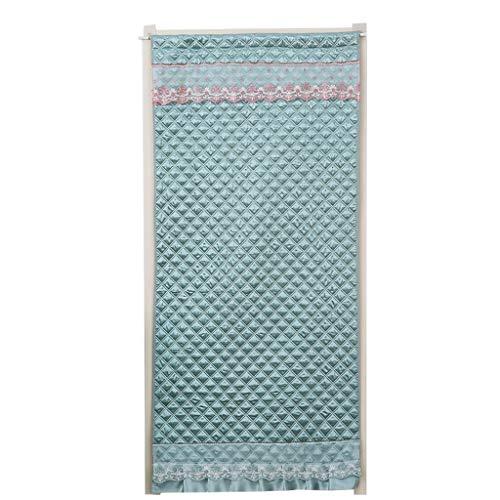 JYMC-Vorhänge Türvorhang - beidseitig Winddicht verdunkelter Schallschutz Isolation Schlafzimmer Haushalt abgeschnitten