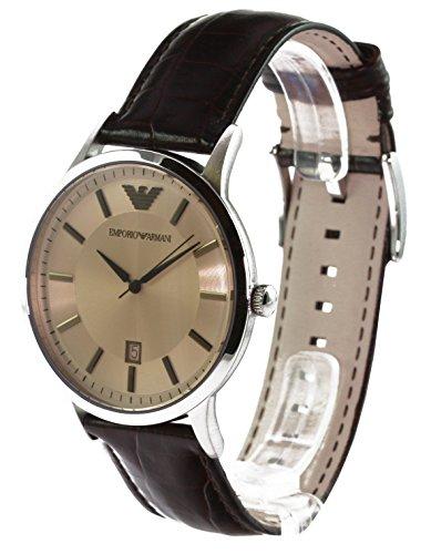 0c57231524f8 Emporio Armani Classic Renato AR2427 - Reloj analógico de cuarzo para hombre
