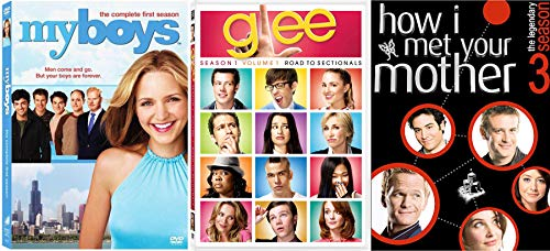 boys singing mom TV Shows Glee Road to Sectionals / My Boys / How I Met Your Mother DVD Awesomeness Funny series Set -