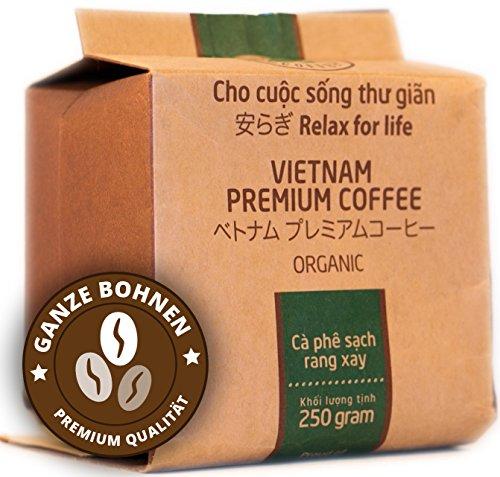 VietBeans Hello5 Organic – Hochwertige Kaffeebohnen aus der Vulkangestein-Region des zentralen...