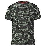 Photo de Hommes Duke D555 Île Grand Haut King Size T Shirt Décontracté Camper Van Imprimé Graphique par D555