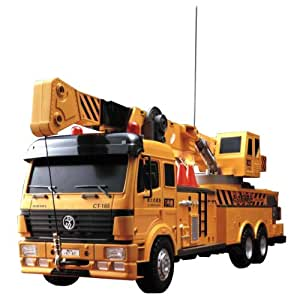 camion grue radio contr l d hobby engine jeux et jouets. Black Bedroom Furniture Sets. Home Design Ideas