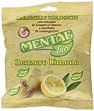 Mental Fassi Caramelle Bio Allo Zenzero e Limone - Pacco da 20 x 90 g