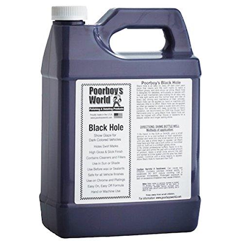 Nouveau. Poorboys trou Noir * * L 3.78 litres * * Show Car Wax/Glaze/vernis