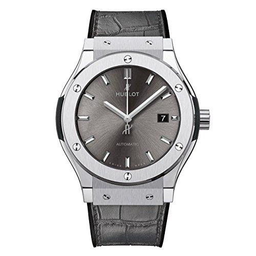 Hublot grigio quadrante automatico mens orologio 542.NX.7071.LR
