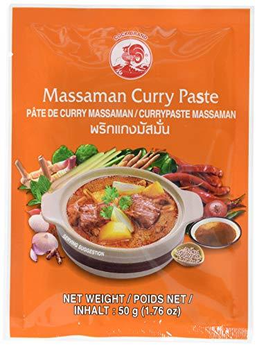 Cock Currypaste, Matsaman, 6er Pack (6 x 50 g Packung)