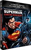 Superman contre Brainiac - Combo Blu-Ray + DVD - Steelbook format Blu-Ray - Collection DC COMICS [Blu-ray] [Combo Blu-ray + DVD - Édition boîtier SteelBook]