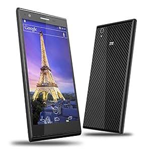 4G LTE Supper Smartphone ZTE Blade Vec Téléphone portable débloqué noir 5.0 pouces IPS grand écran ultra mince Android 4.4 Qualcomm Snapdragon 400 MSM8926 Quad-Core 1G &16G Double Caméra 8.0MP & 1.0MP, GPS, WIFI