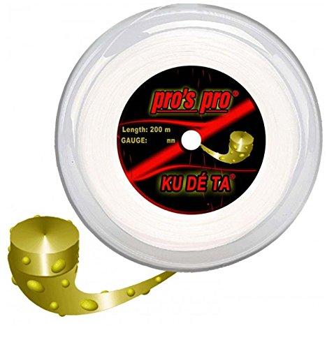 Pros Pro Tennissaite Kudeta Rough 200m 1.25mm für Topspin
