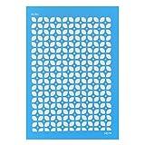 Silk Screen Moiko 74x105 mm - Fliesen 70er Jahren Muster 7.08