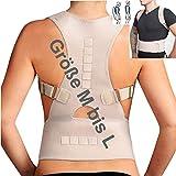 M bis L - Geradehalter zur Haltungskorrektur Rücken Rückenbandage Lendenwirbel