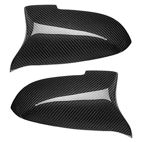 SODIAL Carbon Seiten Spiegel Abdeckung M Performance Fit Für BMW F10 F07 F06