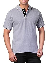 Scott Men's Premium Cotton Polo T-Shirt - Grey