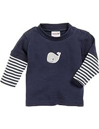 Schnizler Unisex Baby Sweatshirt, Langarmshirt Wal