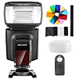 Neewer TT560 Flash Speedlite with 12 Color Filters and IR Wireless Remote Control