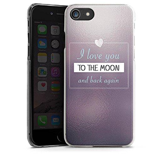 Apple iPhone X Silikon Hülle Case Schutzhülle Liebe Freundschaft Statement Hard Case transparent
