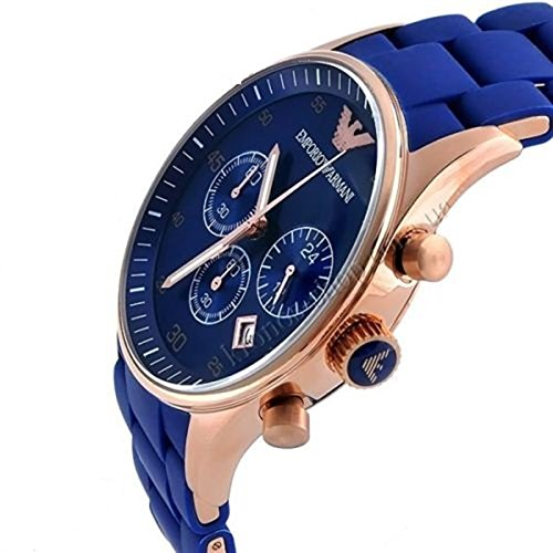 Emporio Armani AR5806 Blue Dial Men's Chronograph Watch * With 2 Years Warranty  available at amazon for Rs.11210