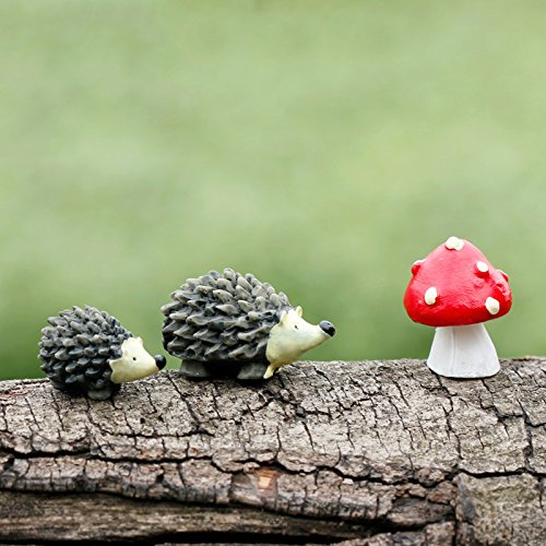 bestim-incuk-miniature-fairy-garden-hedgehog-mushroom-home-decoration-outdoor-decor