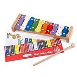 Enfants/Glockenspiel Xylophone avec 10tons 32cm–3807