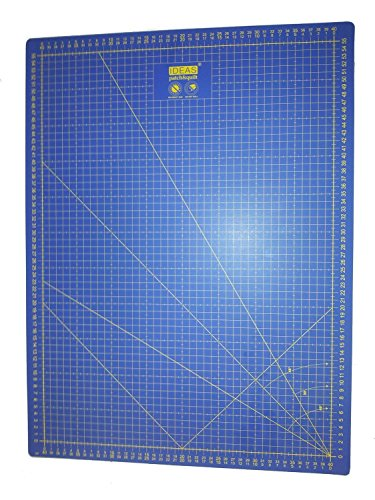 Base corte Patchwork profesional Azul 60x45