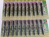 20 Stück Geldscheinprüfer Stifttester O&W Plus Falschgeldtester Banknoten Tester Geldscheinprüfstift Geldprüfstift