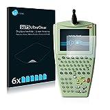 Savvies Leica RX1250 Remote Control Unit Schutzfolie [6er Pack] - Folie Displayschutzfolie klar Displayfolie