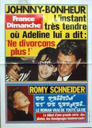 AFFICHE DE PRESSE - JOHNNY ET ADELINE - ...