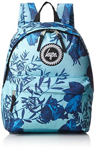 HYPE JUNGLE BLUE Mochila escolar, 40 cm, Varios colores (Multicolor)