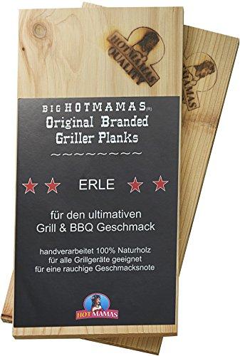 Preisvergleich Produktbild HotMamas Räucherbretter ERLE 2-er Pack