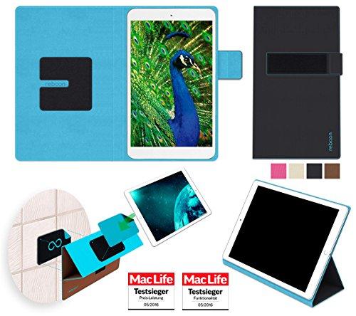 reboon Hülle für Blaupunkt Polaris 808 Tasche Cover Case Bumper | in Schwarz | Testsieger